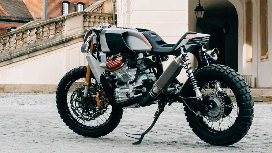 Officine Uragani's Wild Custom Honda CX500