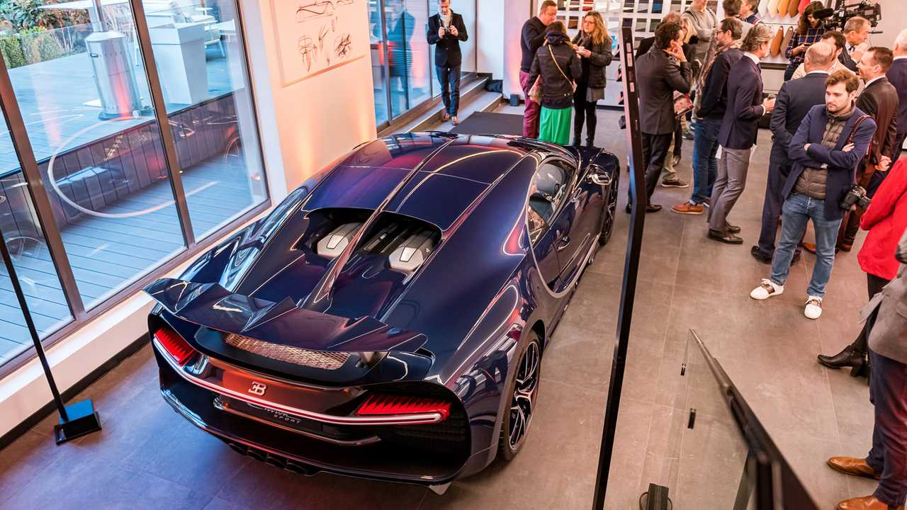 Showroom Bugatti Paris