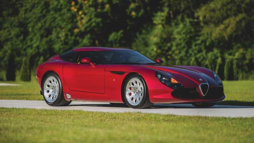 Alfa Romeo TZ3 Stradale, esta belleza se subastará en breve