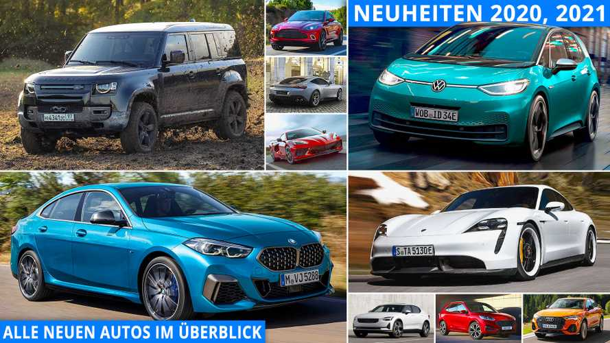 Auto-Neuheiten 2020/2021: Alle neuen Modelle im Überblick