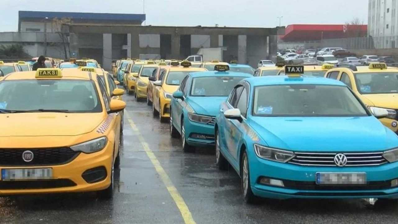İBB Turkuaz Taksi
