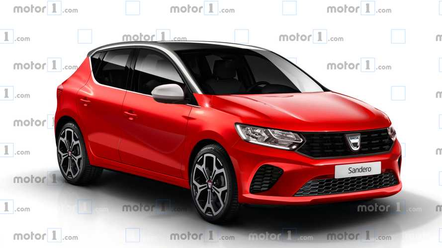 2020 Dacia Sandero Rendering Previews The Low-Cost Renault Clio