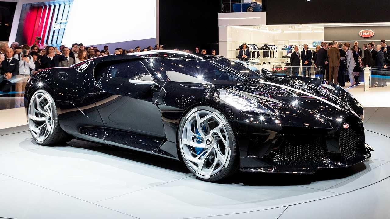 4. Bugatti La Voiture Noire (2021) - 16,5 millones de euros