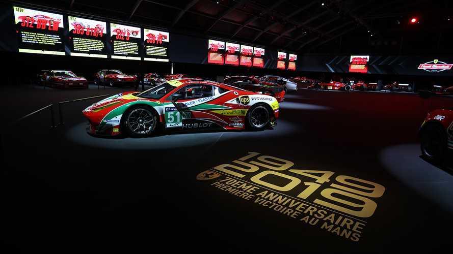 Al Museo Ferrari la storia dei successi a Le Mans