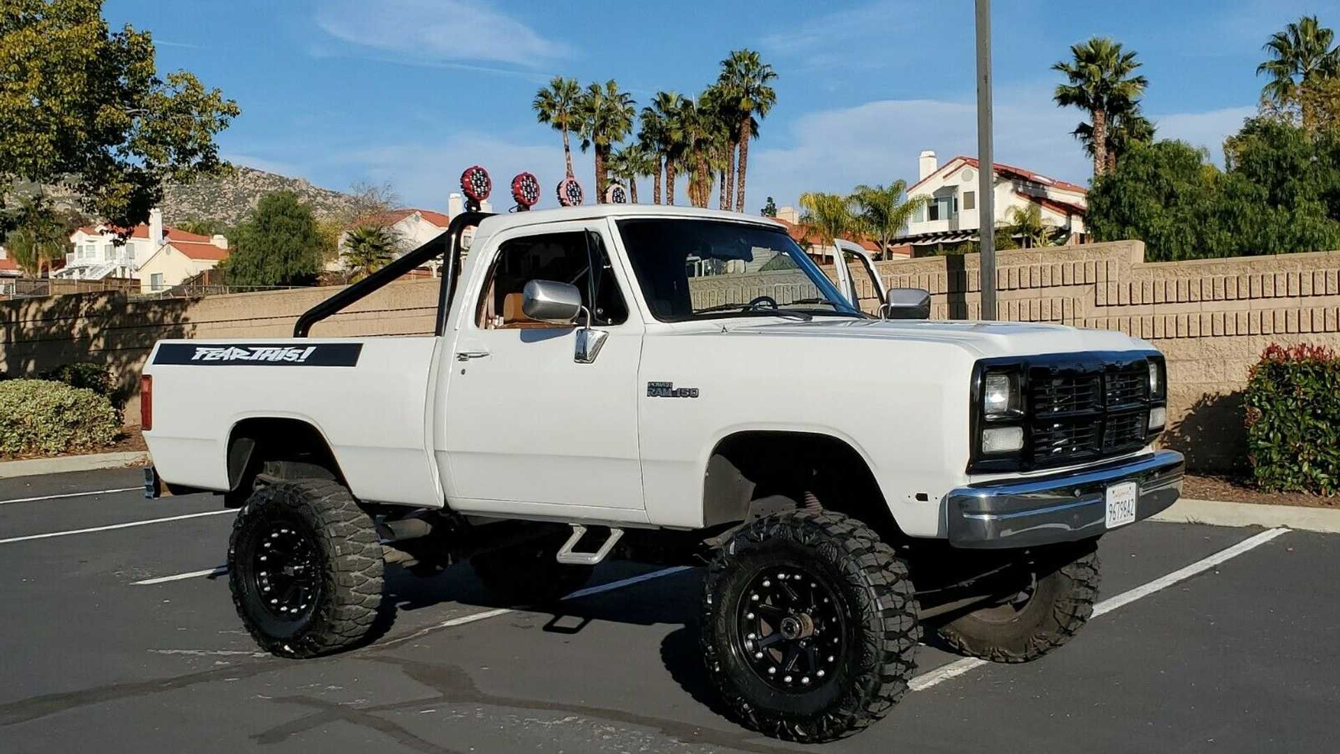 """[""""eBay Find: Sit Above The Rest In A 1992 Dodge Power Ram 150""""]"""