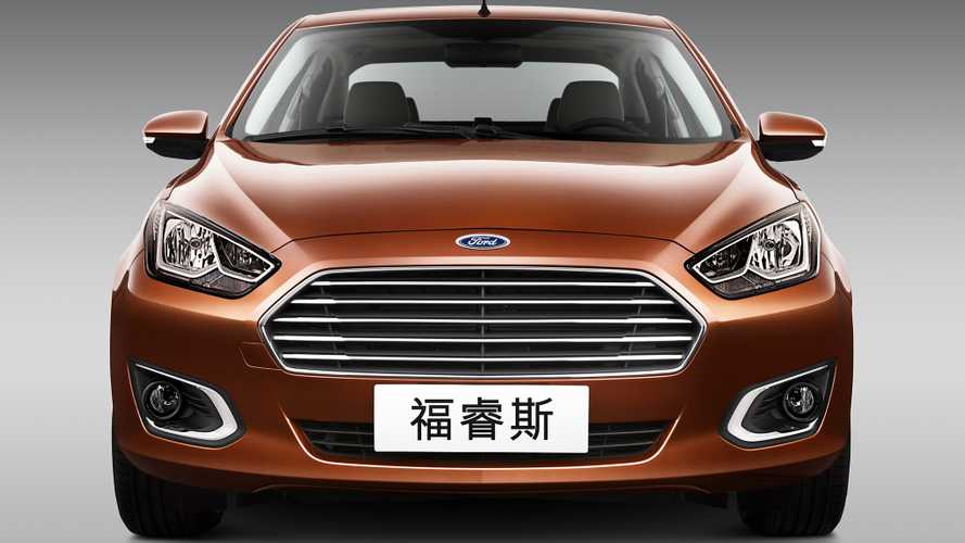 Китайский Ford Escort 2020 года