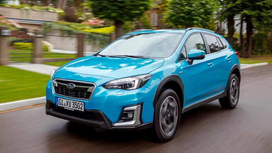 Subaru XV 2.0ie mit neuem e-Boxer-Hybridantrieb startet
