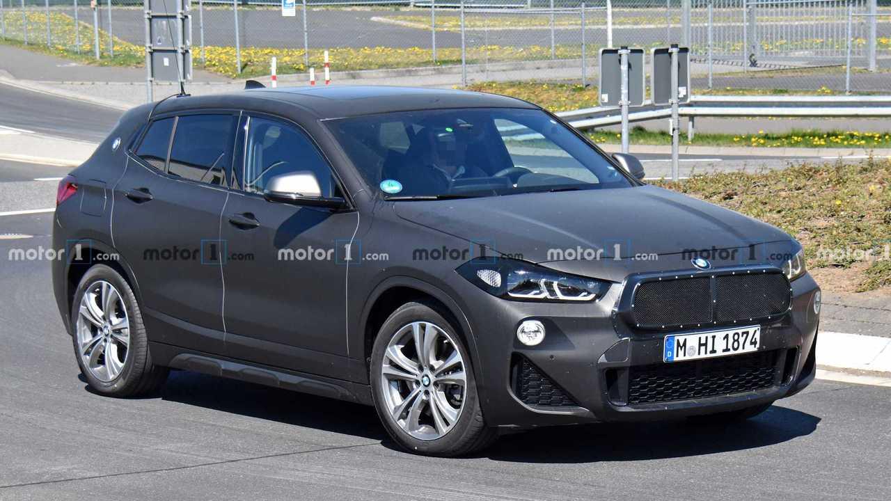 BMW X2 Facelift Spy Photos