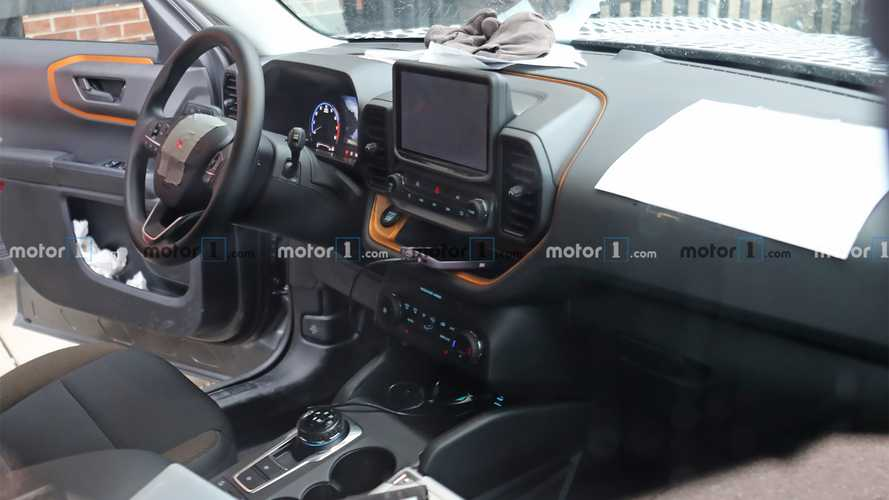 2021 Ford Bronco Sport Interior Spied