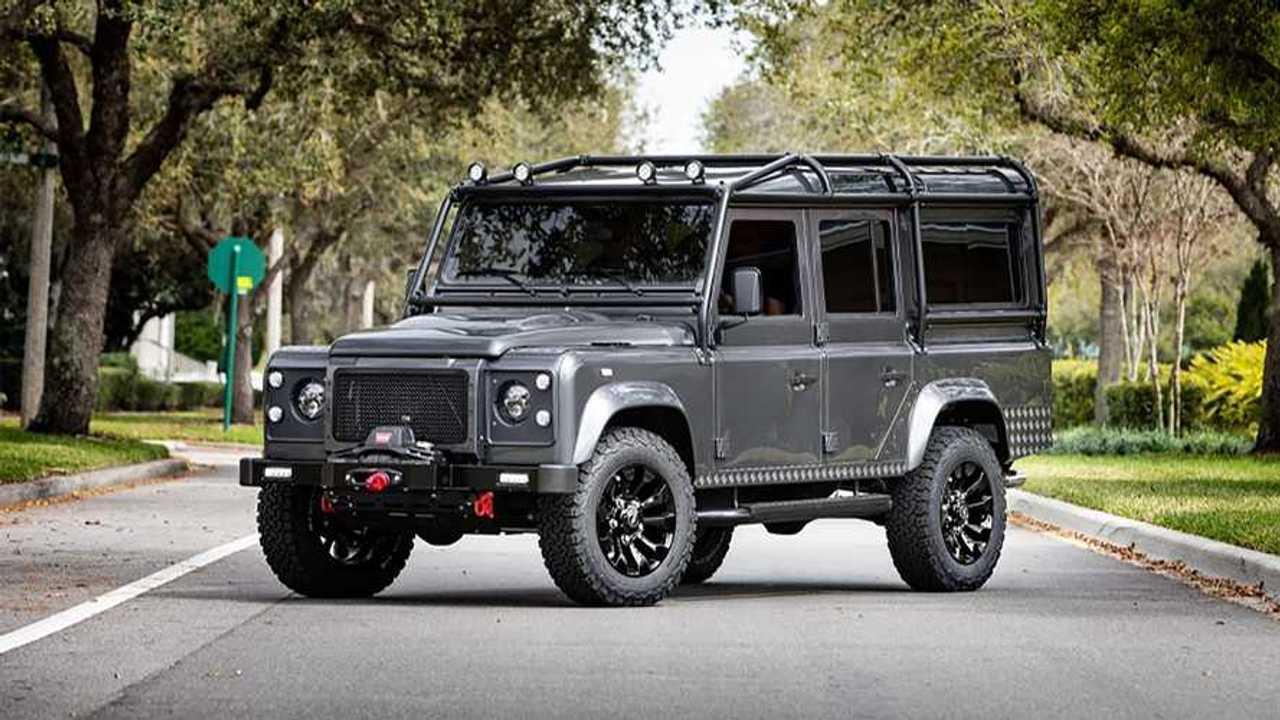 Land Rover Defender eléctrico de E.C.D. Automotive Design