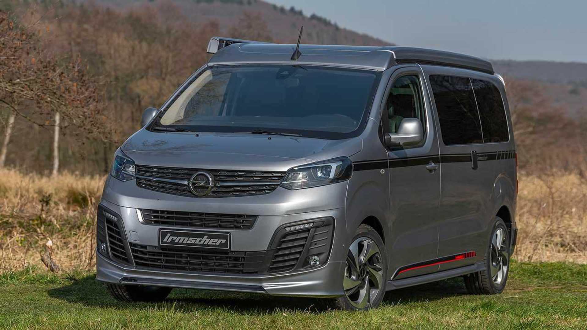 """Irmscher Opel Zafira is8 """"Free"""": Cooler Camper"""