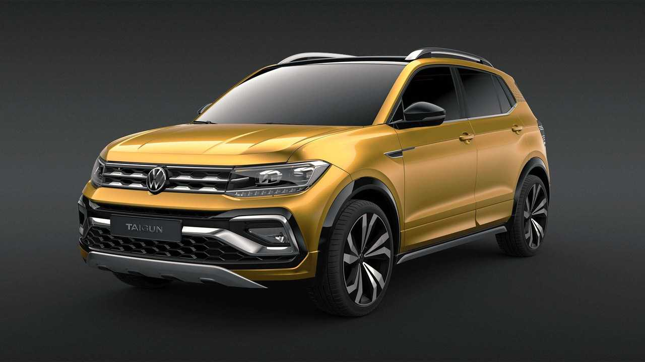 2020 VW Taigun for India