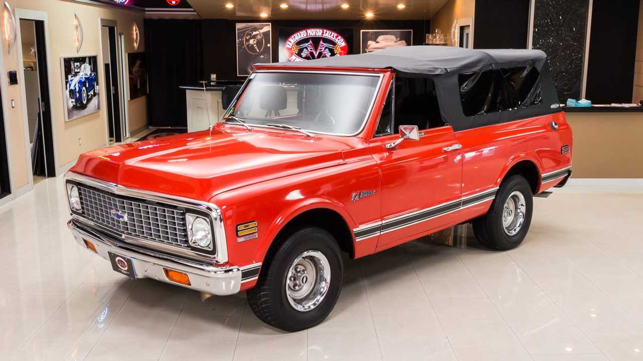 Would You Show Or Go In This Pristine 1972 Chevy Blazer?