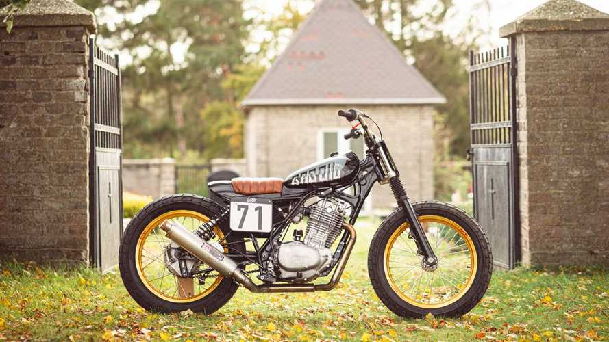 This Honda XL500 Custom Is Ready For The Flat Track