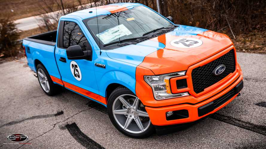 Ford F-150 Gets Retrolicious Gulf Livery Package From Dealership