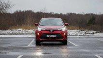 Обновленная Toyota C-HR - едем и едим