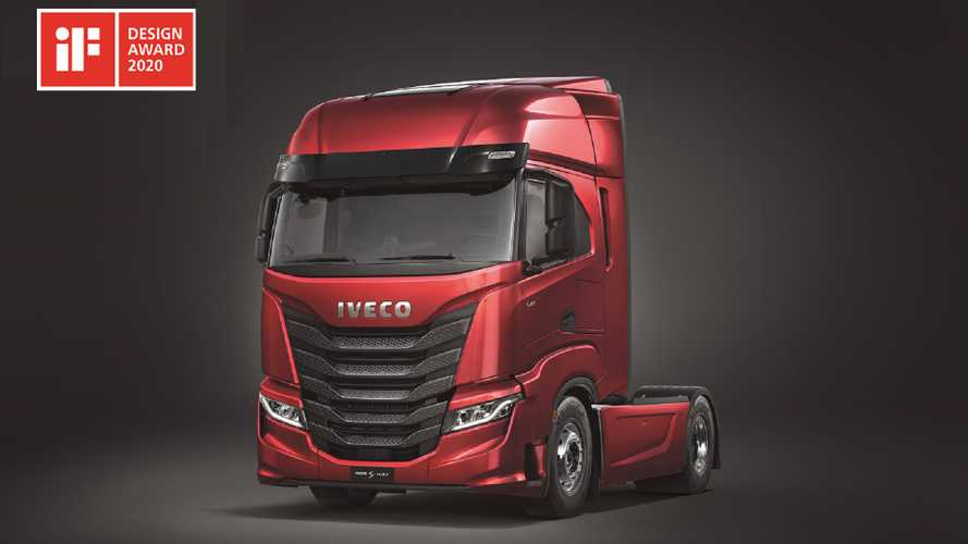Iveco S-Way vince l'iF Design Award 2020
