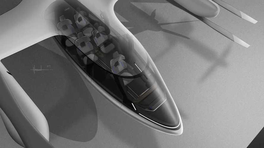 Hyundai / Uber Rideshare Air Taxi Concept