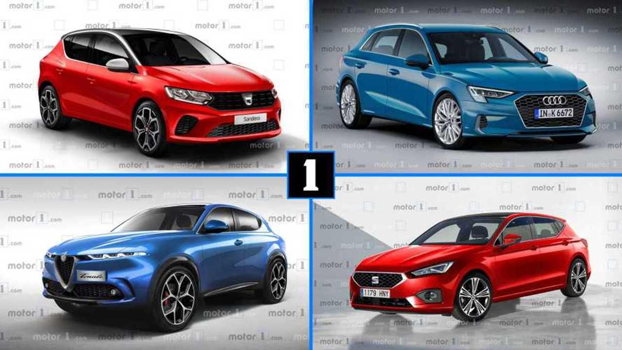 Les dix voitures qui devrait marque l'année 2020