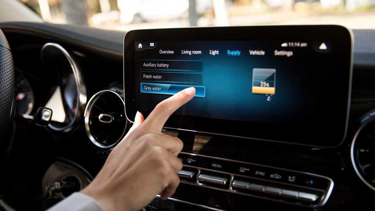 Mercedes Marco Polo più connessi con MBUX e MBAC