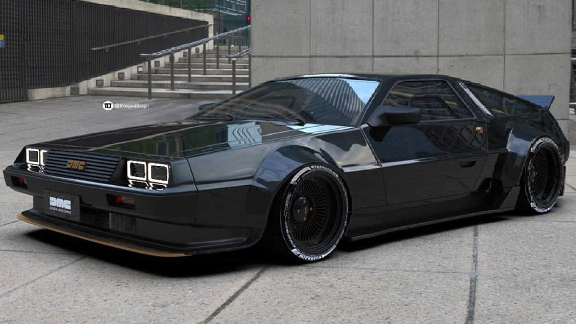 This Insane DeLorean DMC-12 Restomod Should Be A Thing