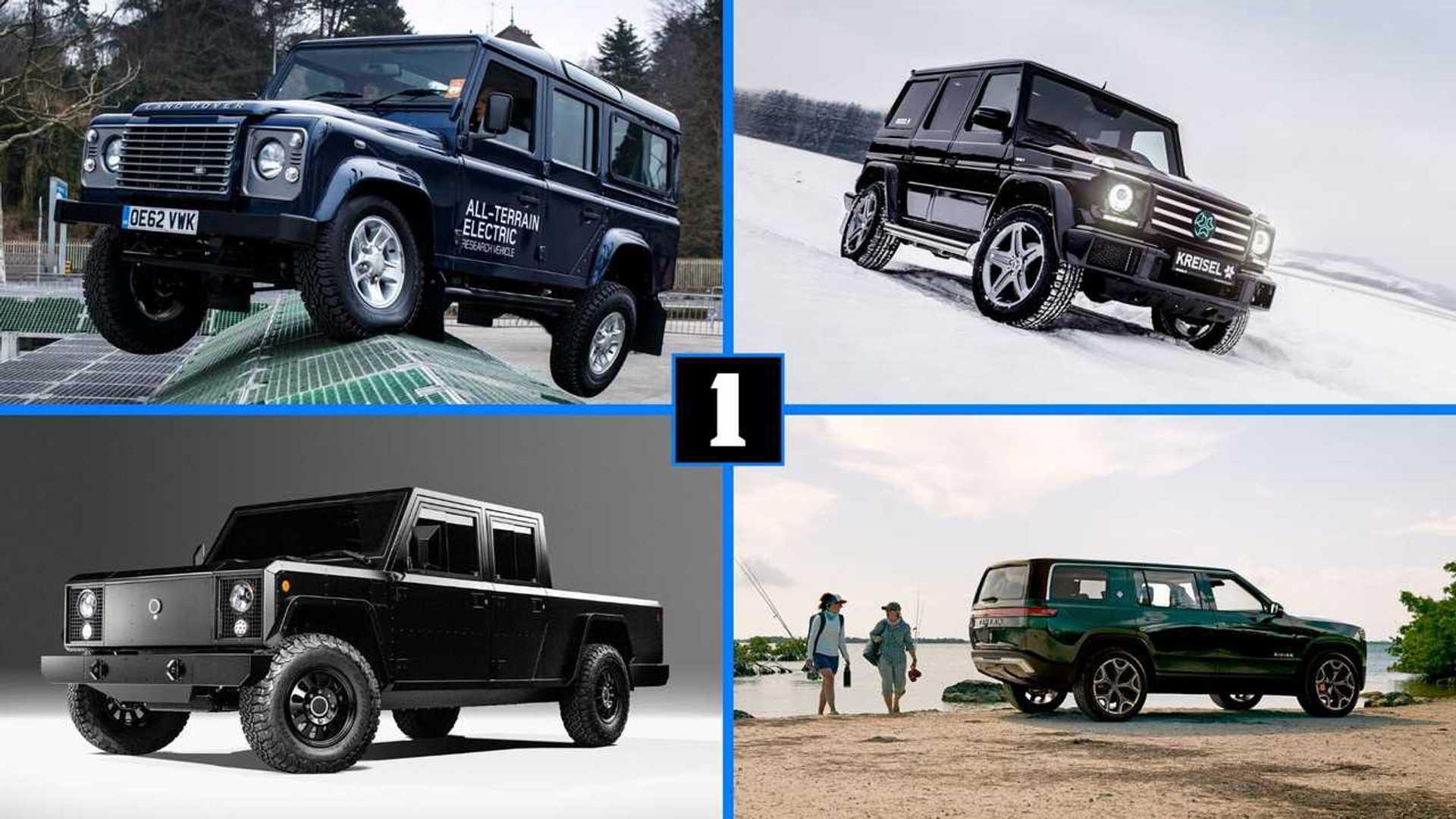 DIAPORAMA - Les gros SUV et pick-ups électriques arrivent !
