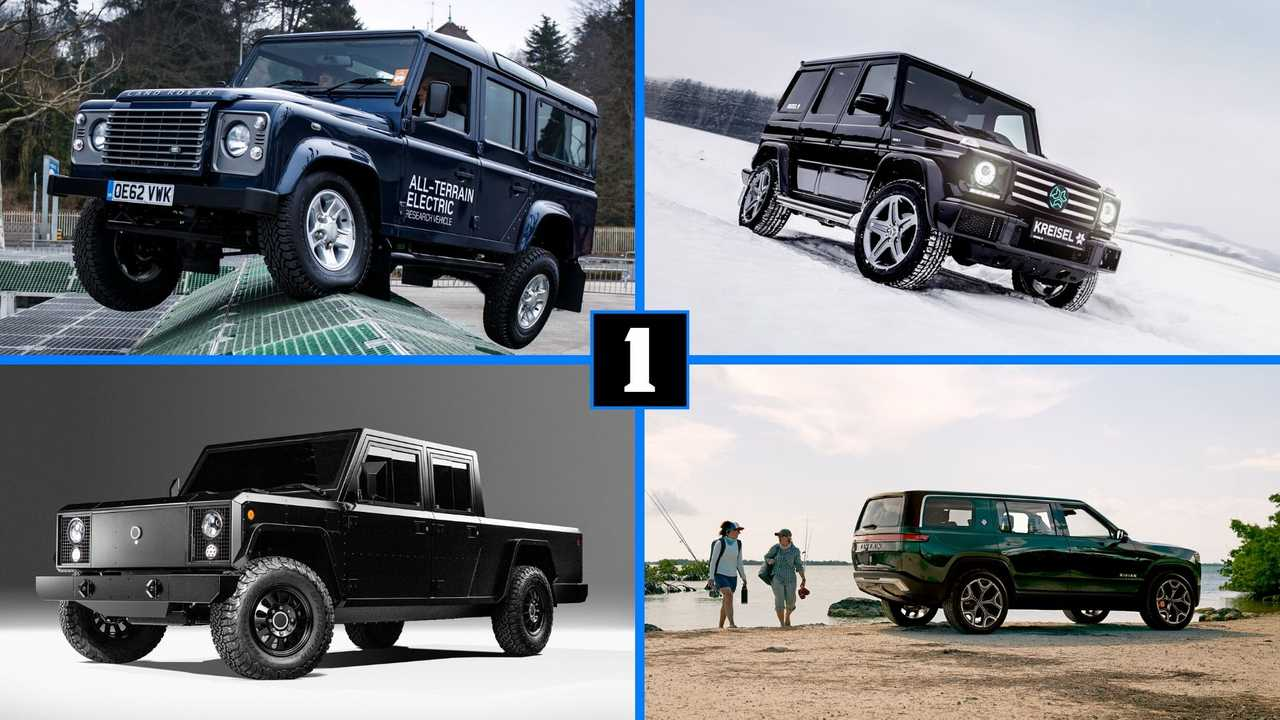 8 electric SUVs