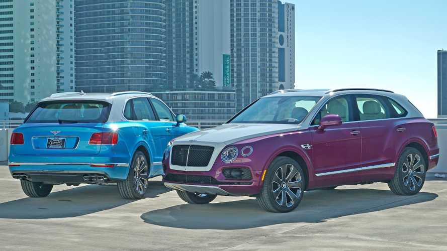 These Bentley Bentaygas Are $268,902 Odes To Art Basel Miami