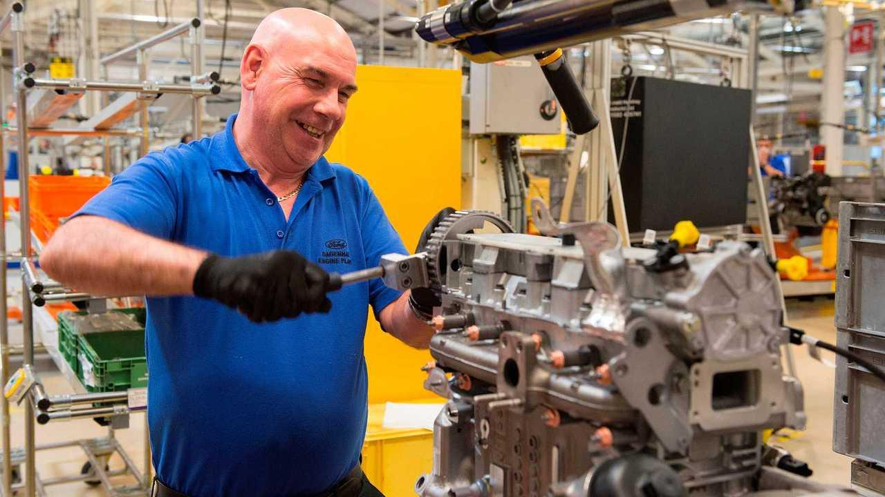 Ford Dagenham UK engine production