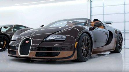 Bugatti Veyron Grand Sport Vitesse Rembrandt is a work of art