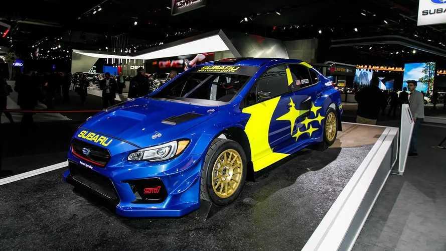 Subaru Rally Car >> 2019 Subaru Sti Rally Car Motor1 Com Photos