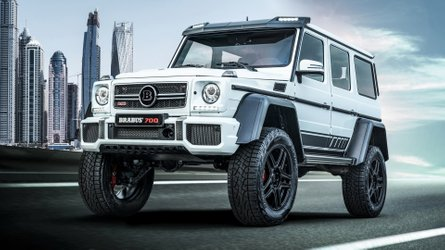 Brabus give the boxy AMG G63 super SUV one last hurrah