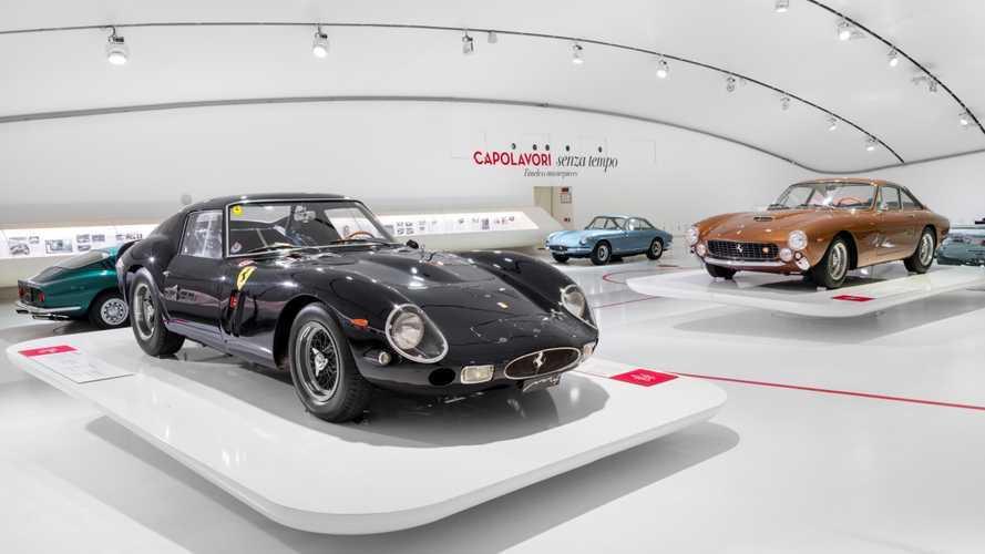 """Museo Enzo Ferrari, apre """"Capolavori senza tempo"""""""
