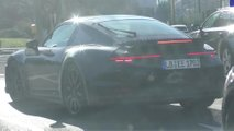 Porsche 911 Turbo Spy Video