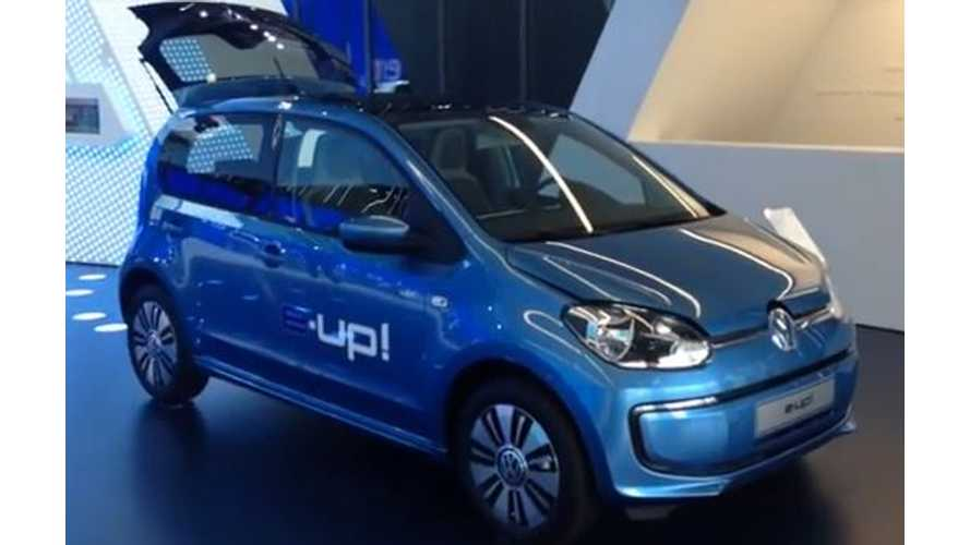 Video: BMW i3 Compared to Volkswagen e-Up!