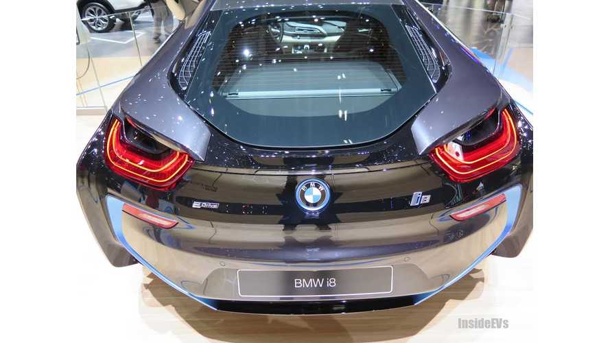 BMW i8 Takes to the Stage in Geneva