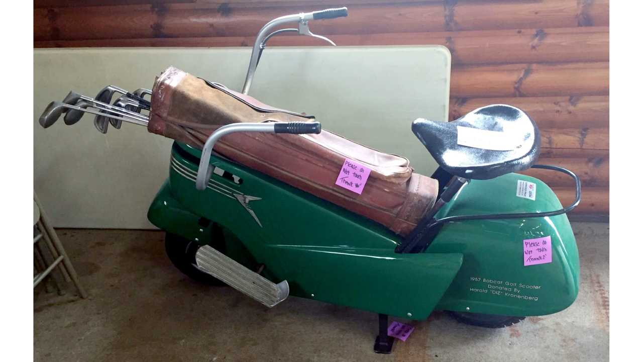 Bobcat Compact Golf Car Scooter