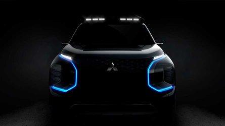 Teaser Mitsubishi Engelberg Tourer: un concept eléctrico para Ginebra