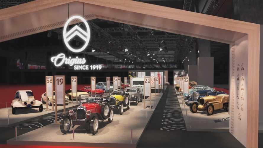 Citroën exposera 30 voitures à Rétromobile