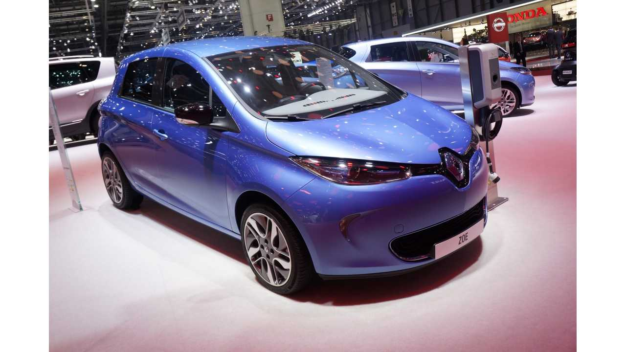 Renault Zoe Shoots to Top of Germany's Electric Vehicle Sales Chart in May