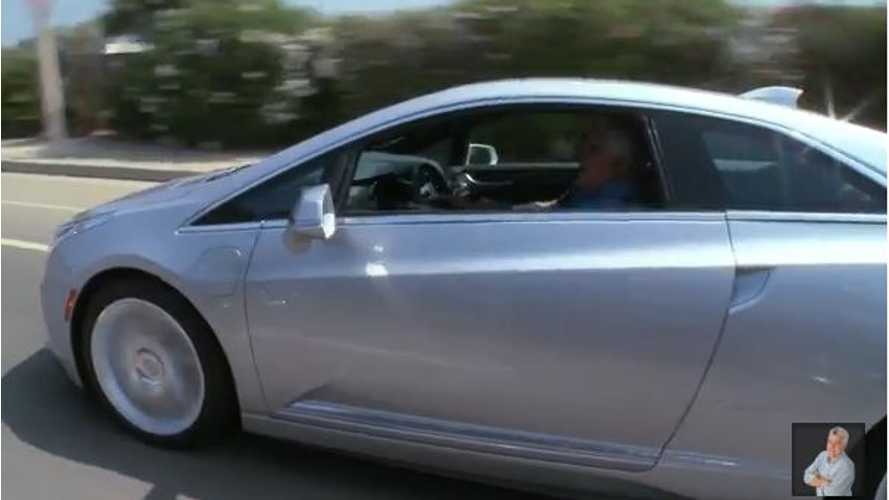 Video: 2014 Cadillac ELR Shows Up in Jay Leno's Garage Ready for a Test Drive