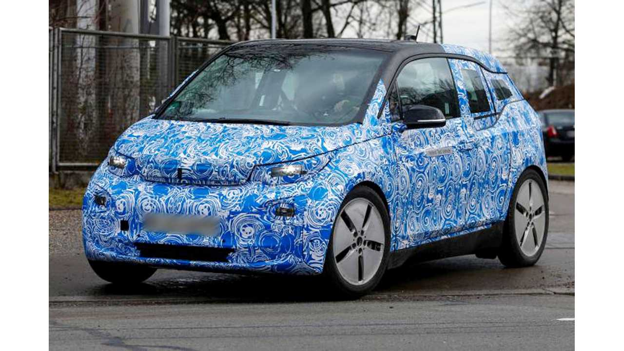 BMW Does Some i3 Testing In Public