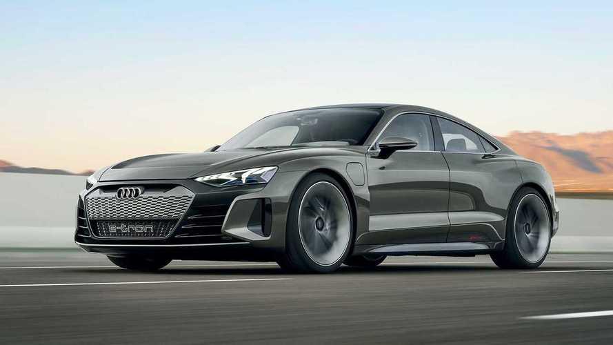 El Audi e-tron GT eléctrico, primo del Taycan, se presentará este 2020