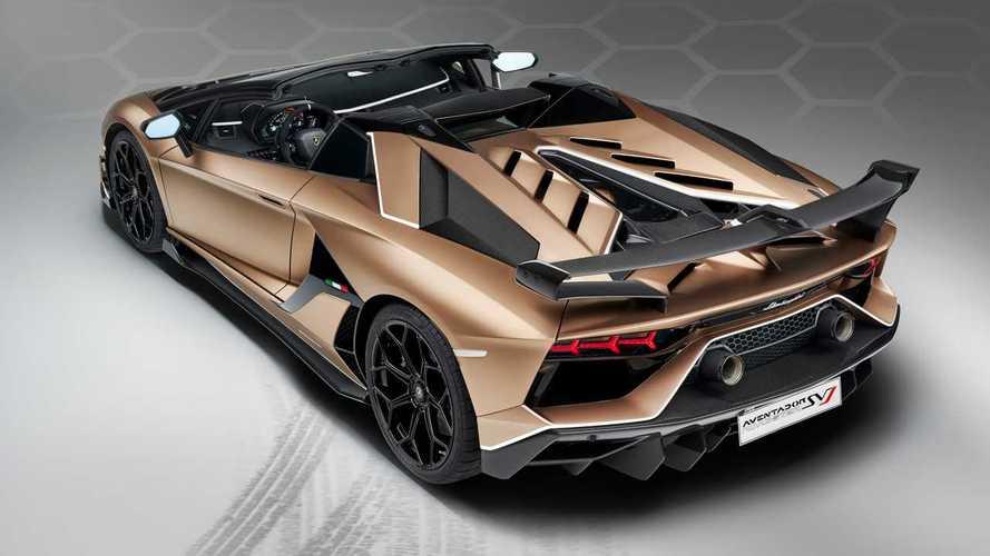 Lamborghini Aventador SVJ Roadster, aria di tempesta