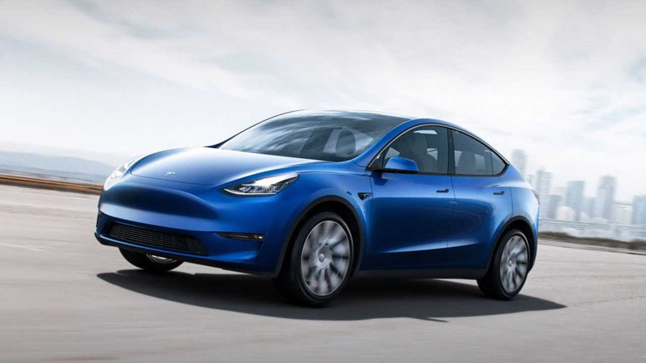 Tesla Y Image: Tesla Model Y Compact SUV Has Electrifying Debut In California
