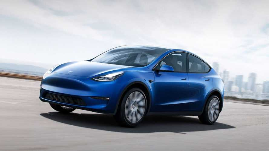 Tesla Model Y Compact SUV Has Electrifying Debut In California