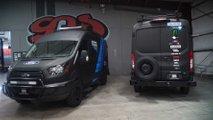 Ken Block hat coole Ford Transit Transporter zur Unterstützung