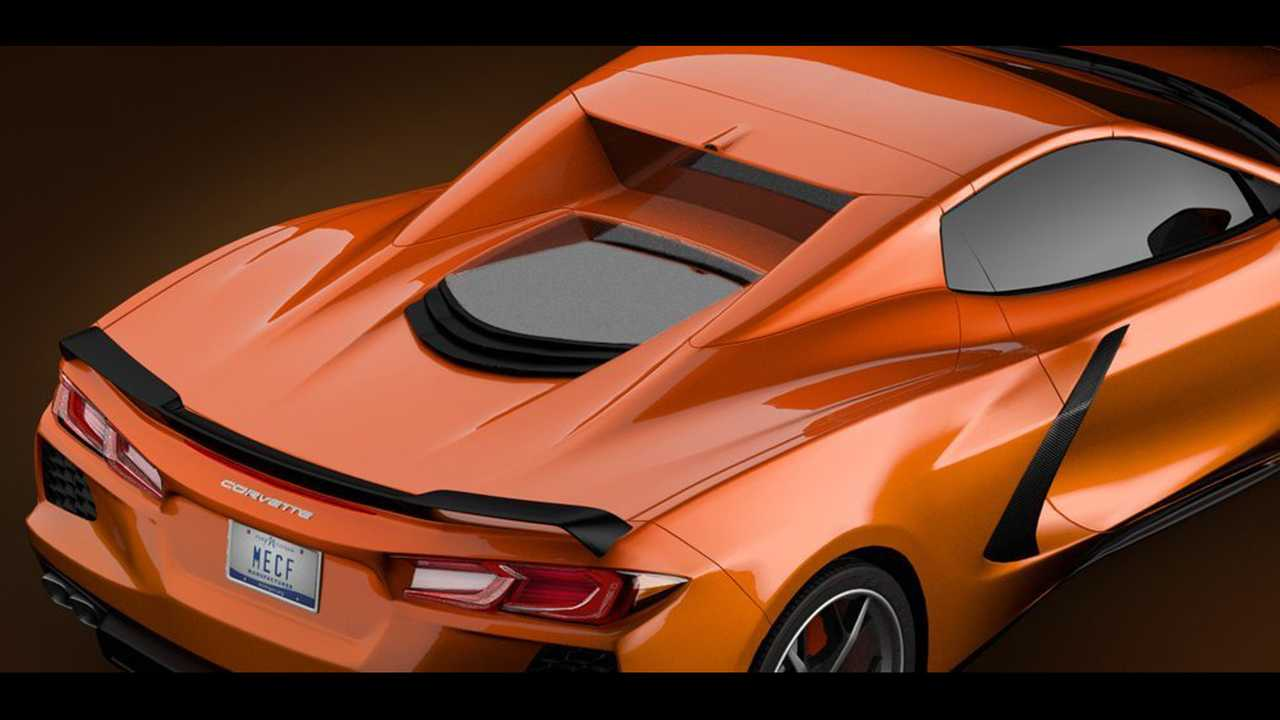 Mid Engined C8 Corvette Rendered As Hardtop Convertible