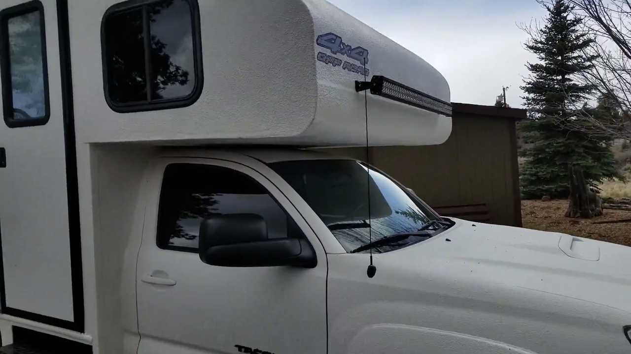 Toyota Tacoma Custom Camper Is All The RV You'll Ever Need