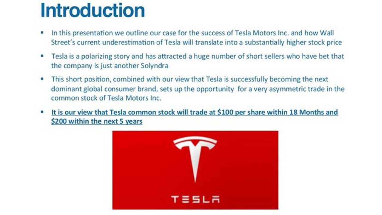 Longboard Asset Management Predicts Tesla's Future Stock Prices